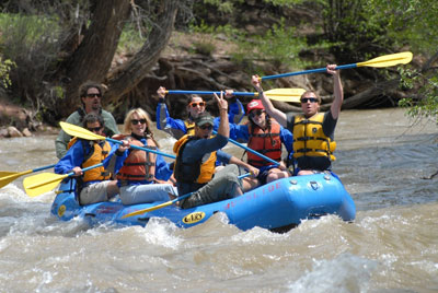 Telluride Outside Rafting